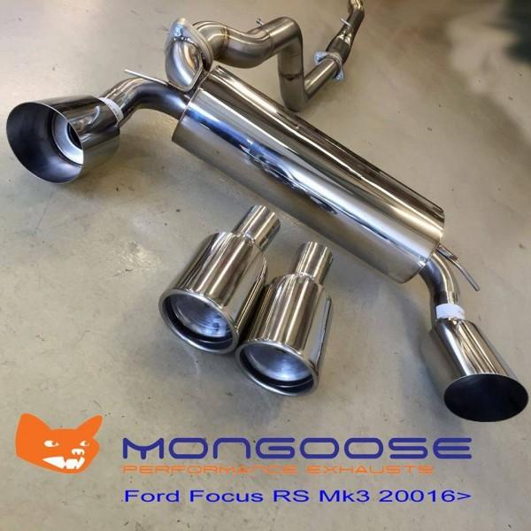 MONGOOSE SPORTAUSPUFFANLAGE FORD FOCUS RS350