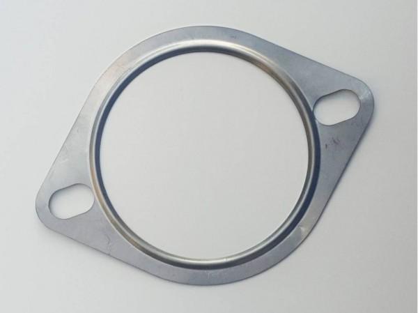 EDELSTAHL 2-LOCH AUSPUFFDICHTUNG 76 MM FORD FOCUS RS350