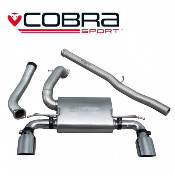COBRA SPORTAUSPUFFANLAGE FORD FOCUS RS350