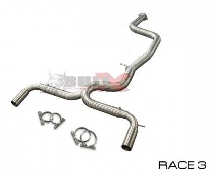 BULL-X SPORTAUSPUFFANLAGE RACE FORD FOCUS ST225